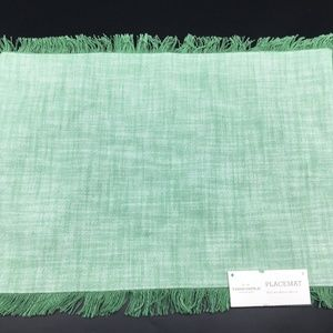 3 Threshold Replacement Placemat Green Set